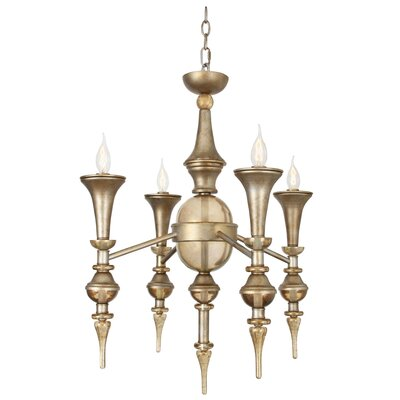 Lourenco 4-Light Candle-Style Chandelier