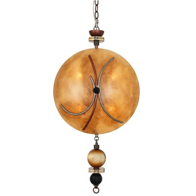 Brune Bell Rock 3-Light Mini Pendant