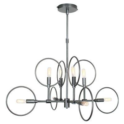 Trianon 8-Light Candle-Style Chandelier