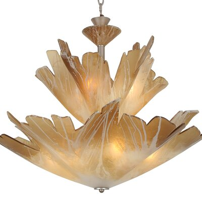 Jamestown 9-Light Inverted Pendant