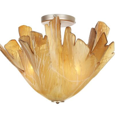 Jamestown 3-Light Flush Mount