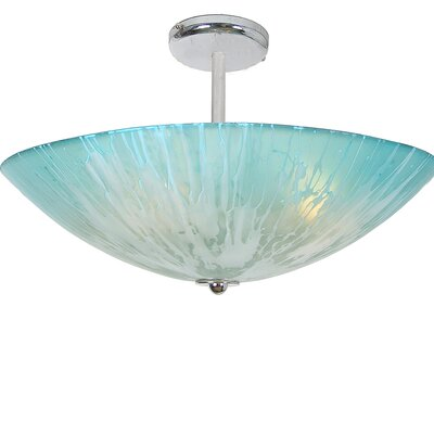 Private Events 4-Light Semi Flush Mount