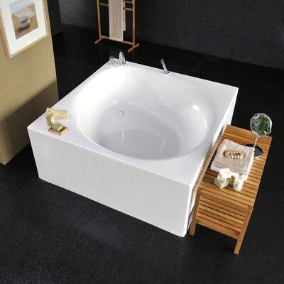 Liquid Space 55.1 x 55.1 Soaking Bathtubub