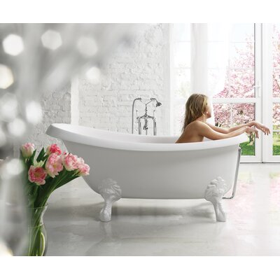 Nostalgia 67 x 32.75 Soaking Bathtub
