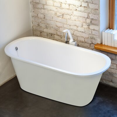 Inflection 61.5 x 29.5 Soaking Bathtub