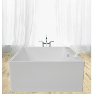 PureScape Acrylic 52.76 x 52.76 Soaking Bathtub