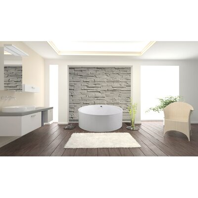 PureScape 59.65 x 59.65 Soaking Bathtub
