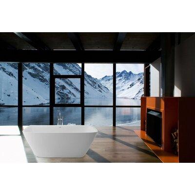 Arabella 68.5 x 30.25 Soaking Bathtub