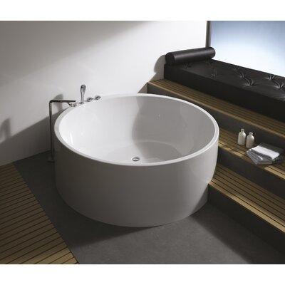 Istanbul 63 x 63 Imagination Freestanding Soaking Bathtub