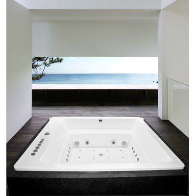 Lacus 70 x 70 Air / Whirlpool Bathtub