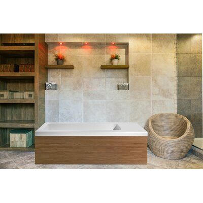 Pure 82.75 x 31.5 Freestanding Soaking Bathtub