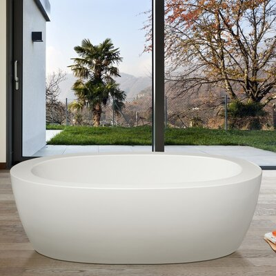 PureScape 68.7 x 32.7 Soaking Bathtub