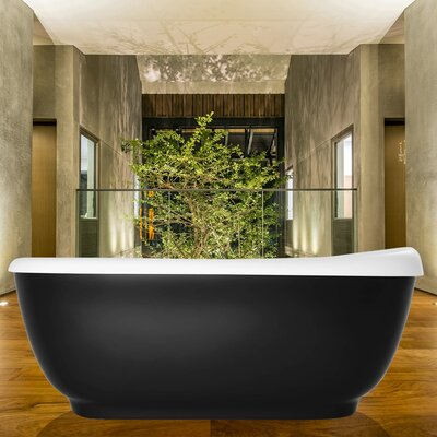 Fido 65.75 x 29 Soaking Bathtub