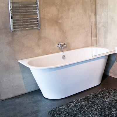 Inflection 69 x 31.5 Left Corner Soaking bathtub