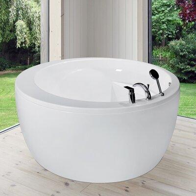 Pamela 68.1 x 68.1 Soaking Bathtub