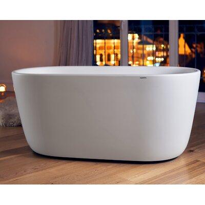 Lullaby-Mini 55 x 27.5 Freestanding Soaking Bathtub