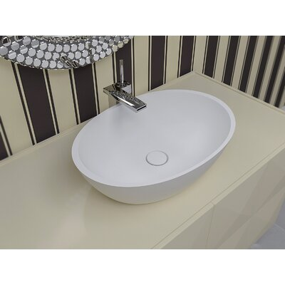 Sensuality Oval Vessel Bathroom Sink