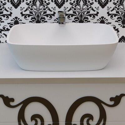 Arabella? Rectangular Vessel Bathroom Sink