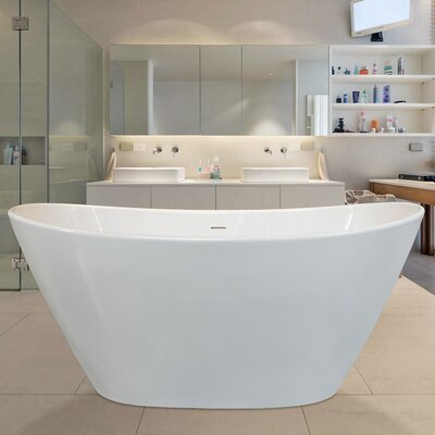 PureScape 63 x 33.5 Soaking Bathtub