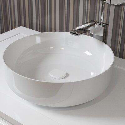 Metamorfosi? Ceramic Round Ceramic Bathroom Vessel Sink