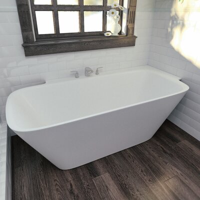 Arab 72 x 33.85 Soaking Bathtub