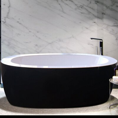 Purescape 68.7 x 32.7 Whirlpool Bathtub