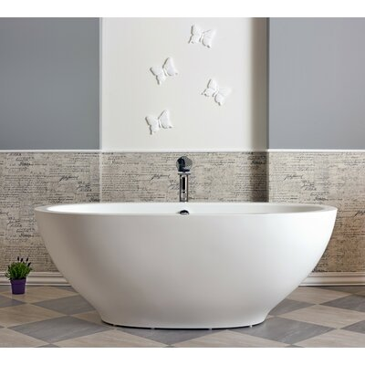 Karolina 70.75 x 35.5 Air Bathtub Finish: Matte