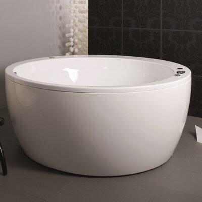Pamela 68.1 x 68.1 Whirlpool Bathtubub