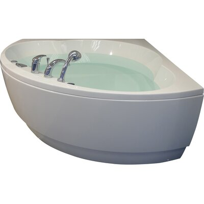 Cleopatra 61 x 61 Corner Soaking Bathtub