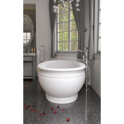 Olympian by Savio Vintage Freestanding 70.75 L x 37.5 W Soaking Bathtub