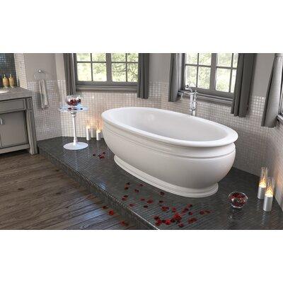 Olympian by Savio Vintage 70.75 L x 37.5 Freestanding Soaking Bathtub