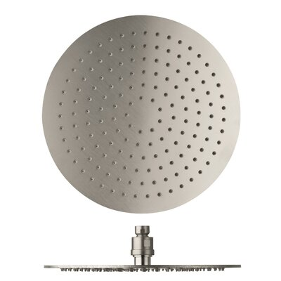 Spring Top Mounted 3.9 GPM Shower Head 627722004613