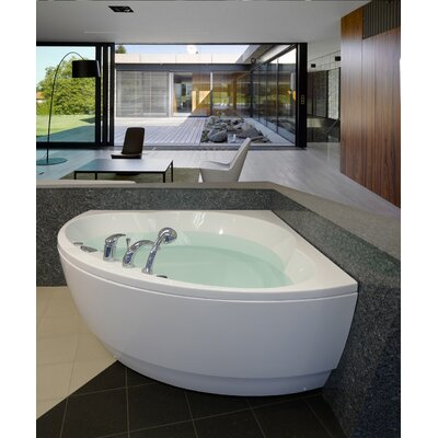 Cleopatra 61 x 61 Corner Soaking Bathtub