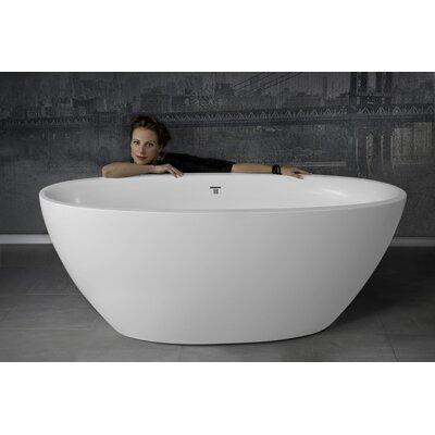 Sensuality 66.5 x 33 Freestanding Soaking Bathtub