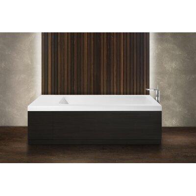 Pure 2D 82.75 x 31.5 Freestanding Soaking Bathtub