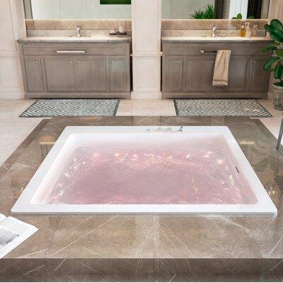 Lacus 70 x 70 Air / Whirlpool Bathtub