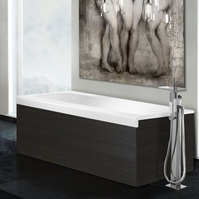 Pure 1D 67 x 31.5 Freestanding Soaking Bathtub