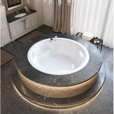 Allegra 74.75 x 74.75 Soaking Bathtub