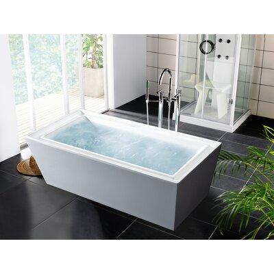 PureScape 70.75 x 33.5 Soaking Bathtub