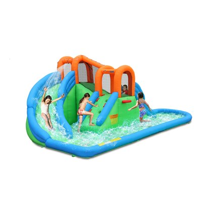 Bounceland Inflatable Island Water Slides 9036A