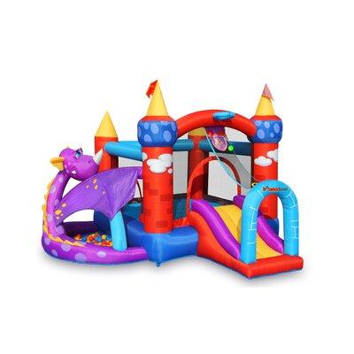 Bounceland Inflatable Dragon Quest Bounce House 9022