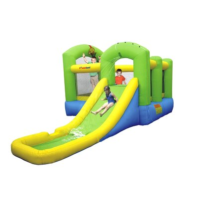 Bounceland Wet or Dry Island Bounce House 9125