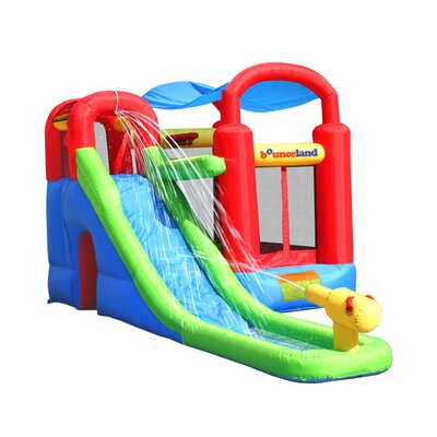 Bounceland Water Slide with Playstation Bounce House at Sears.com