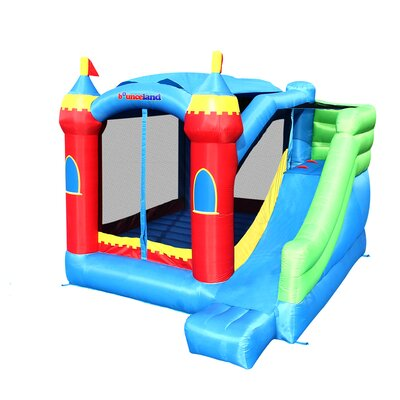 Bounceland Royal Palace Bounce House with Slide 5964