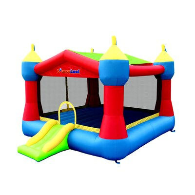 Bounceland Inflatable Party Castle Bounce House 9218A