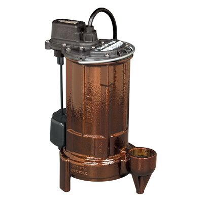 1/2 HP Cast Iron Submersible Sump Pump