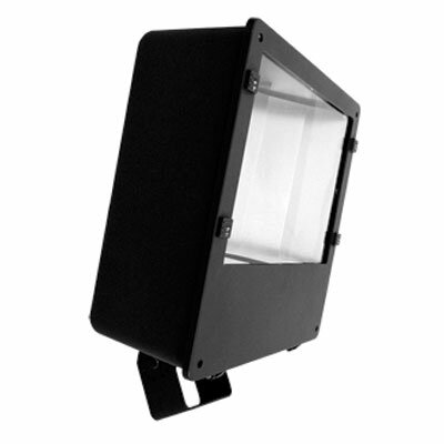 1-Light 250 Watts Flood Light in Architectural Bronze