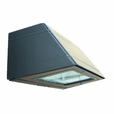 7 1-Light Outdoor Full Cutoff Wall Light in Architectural Bronze