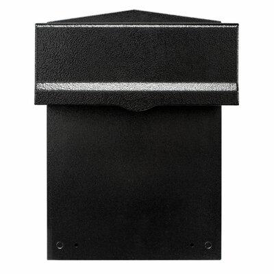 Liberty Rear Access Locking Wall Mounted Mailbox LIB-BL-LM6-46