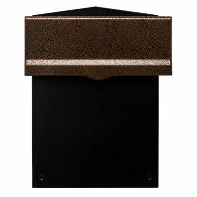 Liberty Rear Access Locking Wall Mounted Mailbox LIB-AC-LM6-46
